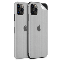 WripWraps Brushed Metal Vinyl Skin for iPhone 11 Pro - Two Pack Photo