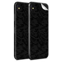 WripWraps Black Glitch Vinyl Skin for iPhone XS Max - Two Pack Photo