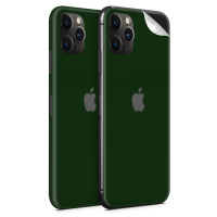 WripWraps Midnight Green Vinyl Skin for iPhone 11 Pro - Two Pack Photo