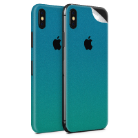 WripWraps Caribbean Shimmer Vinyl Skin for iPhone XS - Two Pack Photo