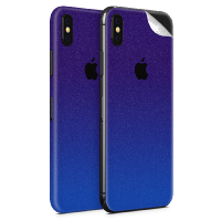 WripWraps Purple Shimmer Vinyl Skin for iPhone XS - Two Pack Photo