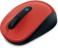 Microsoft Sculpt Mobile Mouse - Red Photo