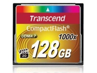 Transcend Ultra Performance 1000x Speed Compact Flash Card - 64GB Photo