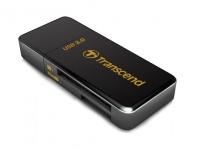 Transcend USB 3.0 Ultra-compact Card Reader - Black Photo