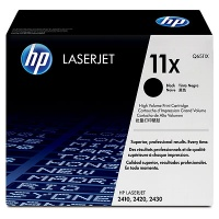 HP # 11X LaserJet 2400 Series Black Print Cartridge Photo
