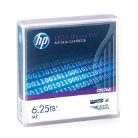 HP LTO-6 Ultrium 6.25TB MP RW Data Cartridge Photo