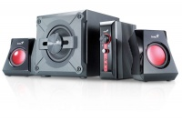 Genius - SW-G2.1 1250 38W Gaming Speakers Photo