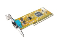 Sunix 1-port RS-232 High Speed Universal PCI Low Profile Serial Board with Power Output Photo
