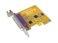 Sunix 1-port IEEE1284 Parallel PCI Express Low Profile Board Photo