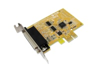 Sunix 2-port RS-232 & 1-port Parallel High Speed PCI Express Low Profile Multi-I/O Board Photo