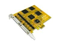 Sunix 16-port RS-232 High Speed PCI Express Serial Board Add on Card Photo