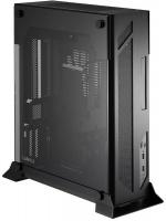Lian Li Wall Mountable Open to Air Mini ITX Chassis - Black Photo