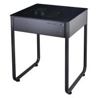 Lian Li Computer Desk Windowed Surface Panel - Black Photo