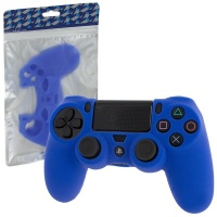 ZedLabz Pro Soft Silicone Protective Cover with Ribbed Handle Grip - Blue Photo