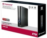 Transcend StoreJet 35T3 8TB USB 3.0 External Hard Drive Photo