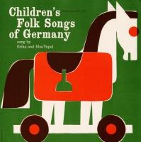 Folkways Records Erika and Elsa Vopel - Children's Folk Songs of Germany Photo