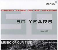 Wergo Germany Stravinsky / Schnebel / Nono / Cage / Huber - 50 Years: 1962-2012 Photo