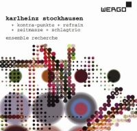 Wergo Germany Stockhausen / Ensemble Recherche / Huber - Kontra-Punkte / Refrain / Zeitmasze Photo