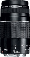 Canon EF75 - 300 mm F 4.0 - 5.6 3 Zoom Lens Photo