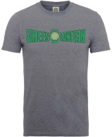 Green Lantern Crackle Logo Mens Tweed T-Shirt Photo