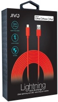 Jivo Lightning Cable X-Long - 3 Meters - Red Photo