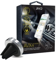 Jivo AVX4 Magnet Universal Air Vent Car Mount - Silver Photo