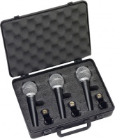 Samson R21S Dynamic Vocal Handheld Microphone with Switch - 3-Pack Photo