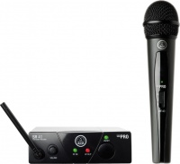 AKG WMS40 Mini Single Vocal Set Wireless Handheld Microphone System – ISM3 Frequency Photo