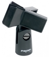 Proel APM30 ABS Spring Loaded Microphone Clip Holder Photo