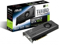 ASUS Turbo GeForce GTX1070 8GB DDR5 Graphics Card Photo