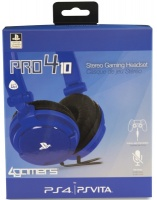 4Gamers PR04-10 Stereo Gaming Headset - Blue Photo