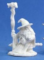Reaper Miniatures Bones: Kael Stonekindle Dwarf Wizard Photo