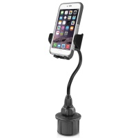 """Macally - Car Cup Holder Mount - 8""""/20 cm - iPhone/Smartphone Photo"""