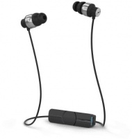 iFrogz Impulse Bluetooth Wireless Earphones - Black/Silver Photo