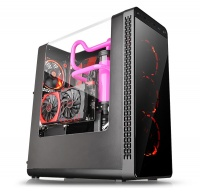 Thermaltake View 27 Gull-Wing Window ATX Mid-Tower Chassis Photo