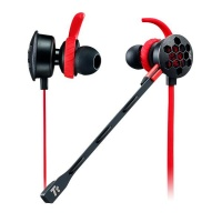 Tt eSPORTS Thermaltake Isurus Pro 3.5mm Earphones - Red Photo