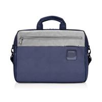 """Everki - ContemPro 15.6"""" Briefcase Navy/Ash Photo"""