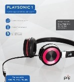 Prif - PlaySonic 1 Portable Headset Photo