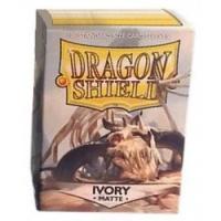Dragon Shield - Standard Sleeves - Matte Ivory Photo