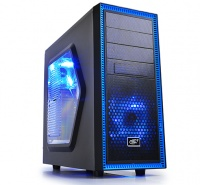 DeepCool Tesseract Chassis with Side Window - Black Photo