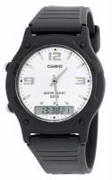 Casio Retro AW-49HE-7AV Analog and Digital Watch - Black Photo
