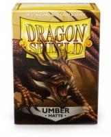 Dragon Shield - Standard Sleeves - Matte Umber Photo