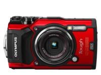 Olympus TG-5 Compact 12MP Digital Camera - Red Photo