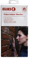 """Ellies Video Indoor Monitor 4"""" White With Power Adaptor Photo"""