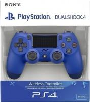 Sony - PlayStation Dualshock 4 Controller - Blue Photo