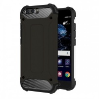 Tuff Luv Tuff-Luv Tough Armour Layered Case for Huawei P10 - Black Photo