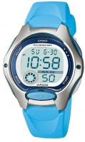 Casio Standard Collection 50m WR Digital Watch - Grey and Blue Photo