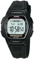 Casio Standard Collection 50m WR Digital Watch - Black Photo