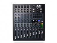 Alto Professional Live802 Live Series 8 Channel 2 Bus USB Mixer Photo