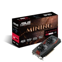 ASUS Radeon Mining RX 470 4GB Graphics Card Photo